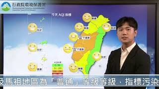2020/07/31  空氣品質預報