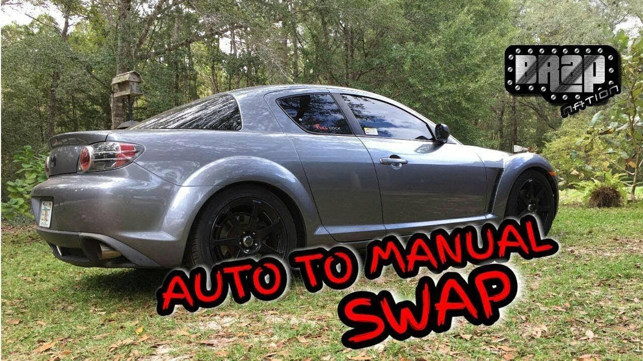 rx8 full auto to manual swap part 1 youtube rh youtube com Mazda RX-8 0 60 Mazda RX-8 Turbo Kit