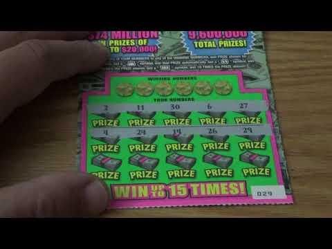 $250m Cash Spectacular Illinois Lottery #18