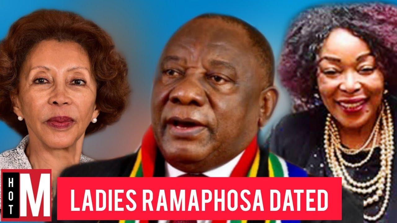 Meet The Three Women Who Married Cyril Ramaphosa Ladies Ramaphosa Has Dated Youtube