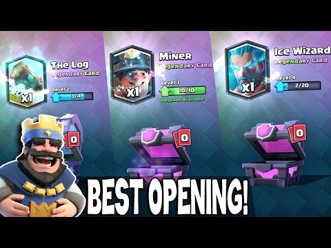 Clash Royale BEST LEGENDARIES + INTENSE MATCHES! Best Chest Opening In Clash Royale!