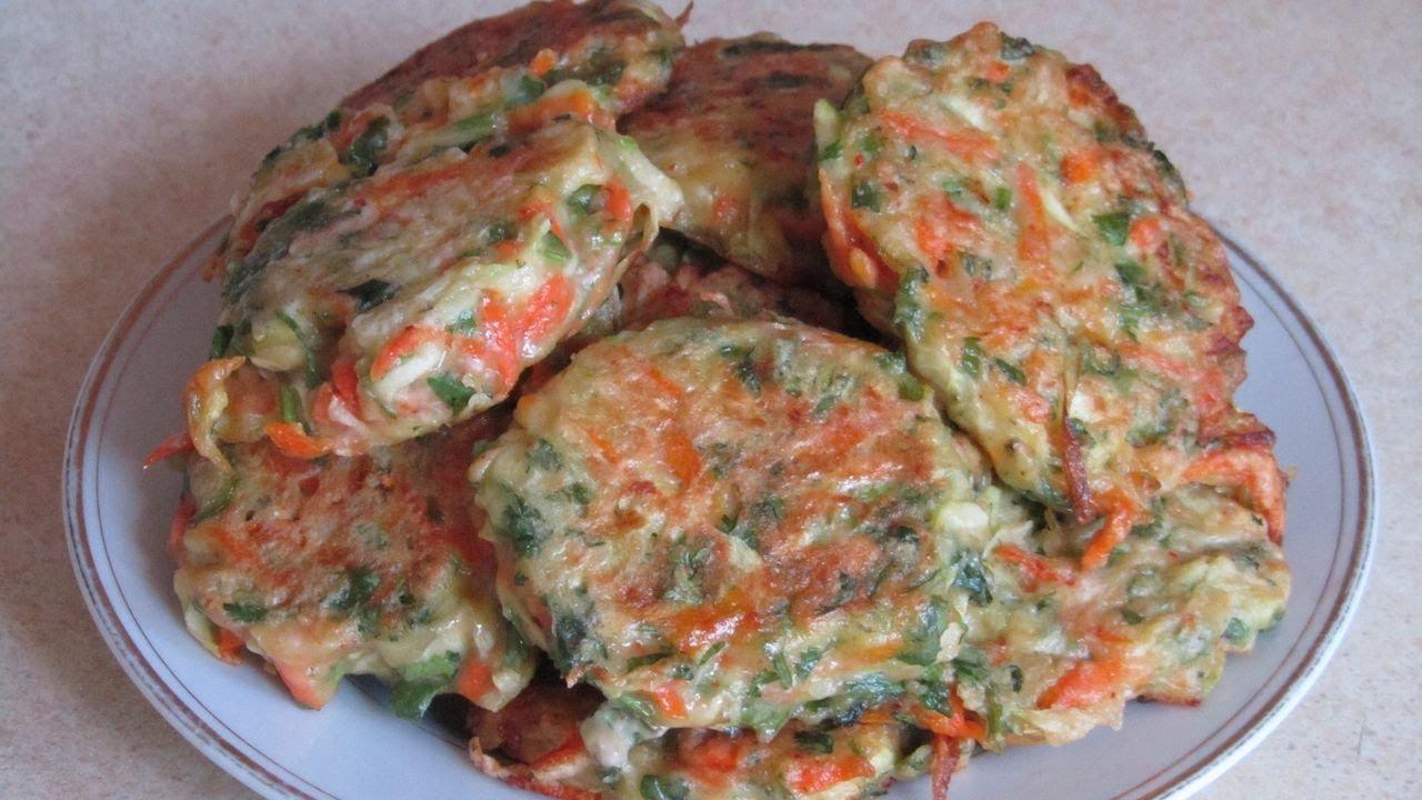 постные рецепты кабачковые оладьи