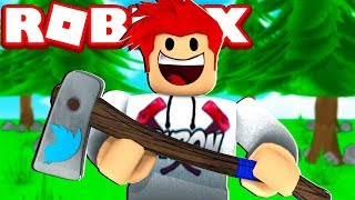 ROBLOX-💥 HOW TO CATCH the BIRD AXE 💥 (Lumber Tycoon 2)