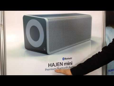 휴밍글로벌, 프리미엄 블루투스 오디오 'HANJEN mini'