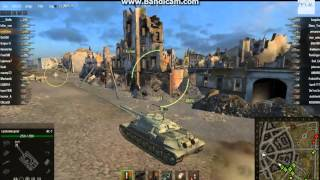 World of Tanks-Танк ИС-7(Обучение)