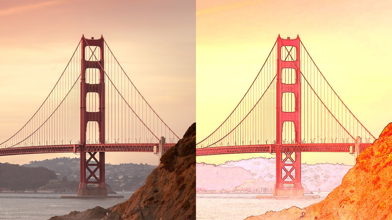 Photo To Line Art Converter Free Download : How to convert photo into detailed color art in photoshop youtube