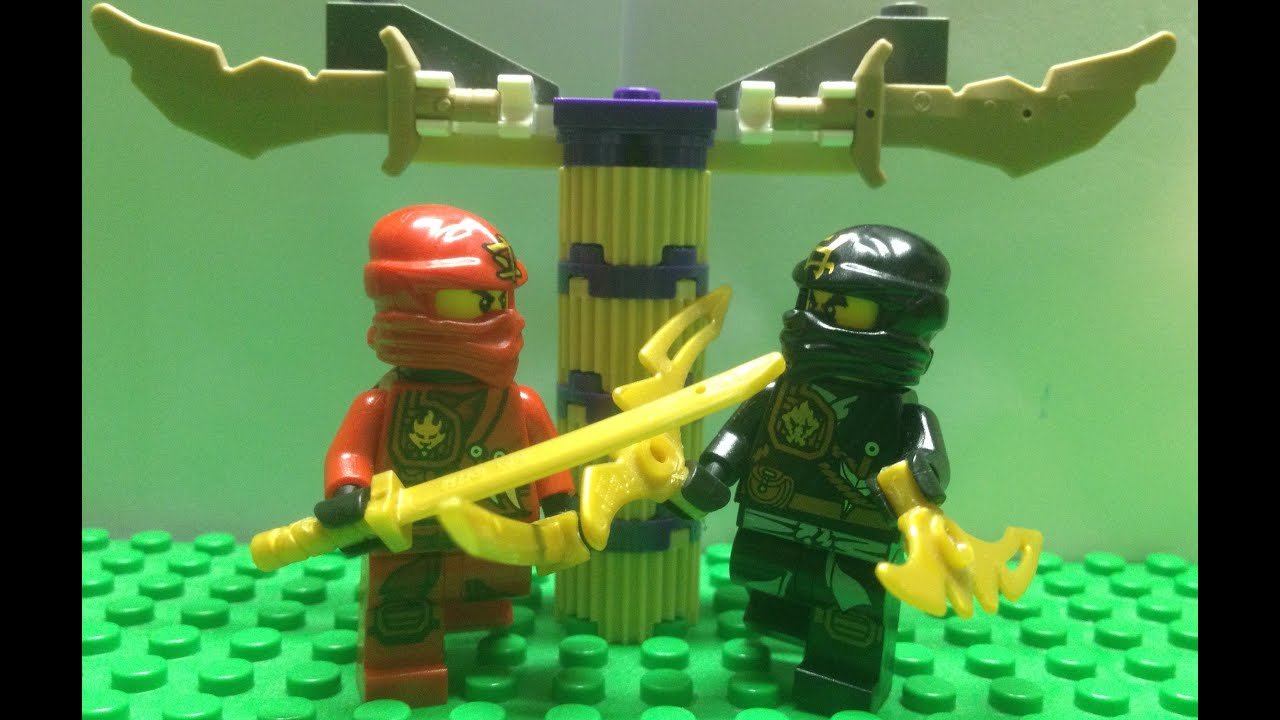 Lego ninjago tournament kai vs cole youtube - Ninjago vs ninjago ...