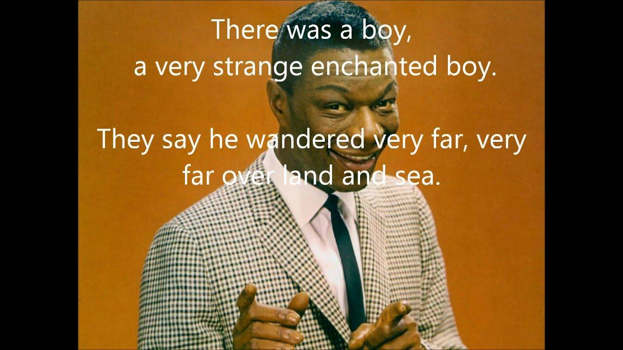 Nat King Cole Nature Boy With Lyrics Chords Chordify