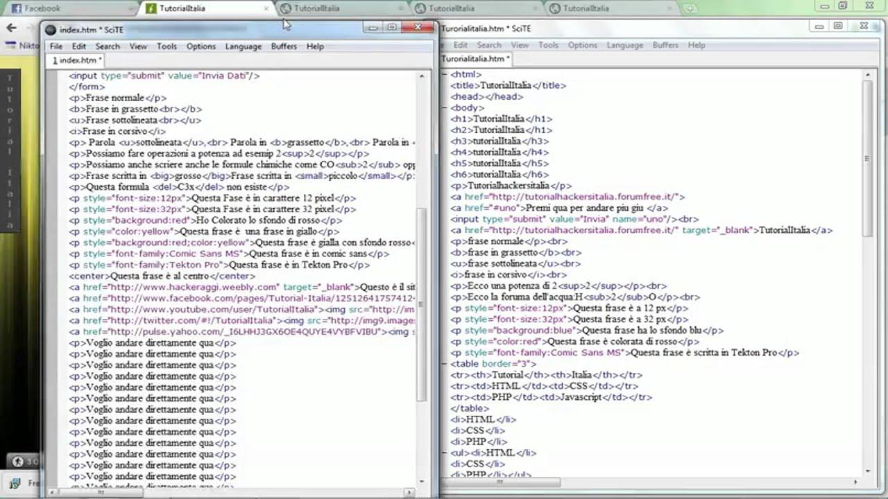www.sexwo.org_Tutorial- 4 - HTML Inserire immagini con link - YouTube