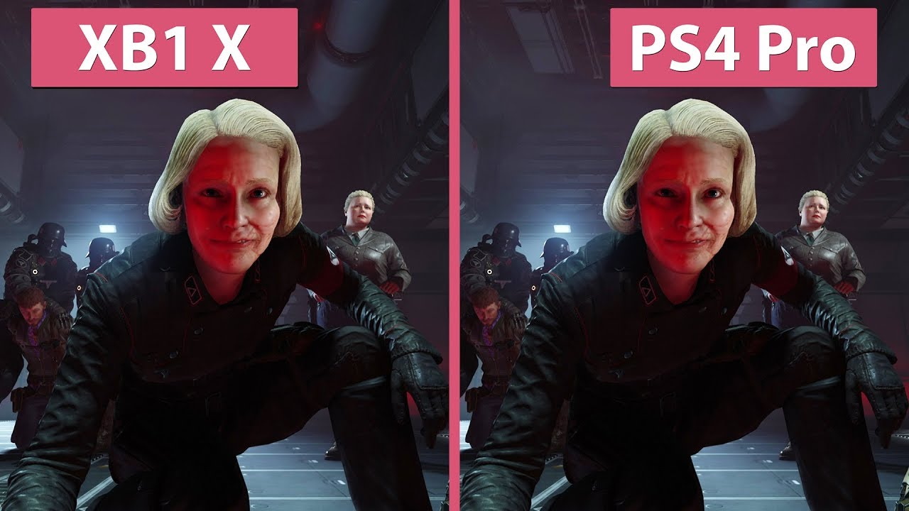 Xbox One Vs Ps4 Graphics Side By Side Wolfenstein 2 – Xbox...