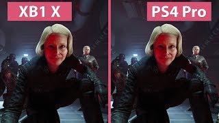 Wolfenstein 2 – Xbox One X vs. PS4 Pro Graphics Comparison