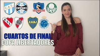 ANÁLISIS Y PREDICCIÓN COPA LIBERTADORES.. PARTIDOS DE IDA DE LOS CUARTOS DE FINAL..