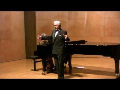 """Bernard MURACCIOLE chante """" Largo al factotum..."""" Il barbiere di Siviglia  (Rosssini) 2010"""