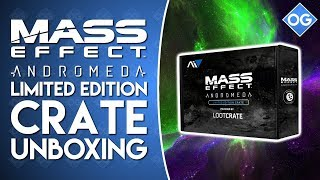 Mass Effect Andromeda | Limited Edition Crate Unboxing