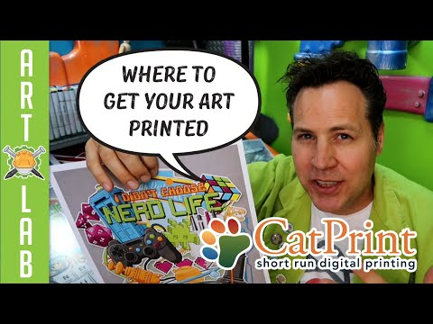 Where To Get Your Art Printed- CatPrint Review