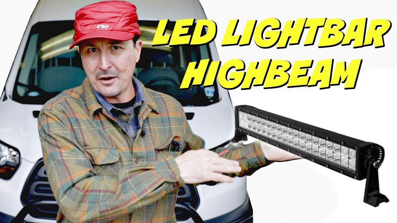medium resolution of how to connect light bar to high beams