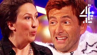 "David Tennant Plays ""Snog, Marry, Kill: Matt Smith, Peter Capaldi Or Jodie Whittaker?"""