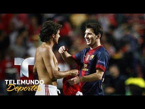Messi y Aimar: Cuando el ídolo admiraba a su gran estrella   Ídolo de Ídolos   Telemundo Deportes