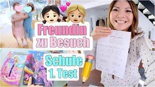 BESTE Freundin zu Besuch 😍 Schule wird ernst! Der 1. Test | XXL Familien Vlog | Mamiseelen