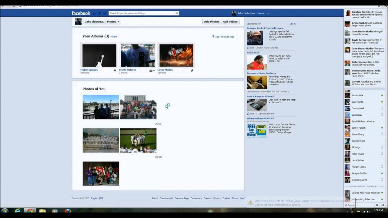 How To Delete Pictures From Facebook With The New Facebook Timeline