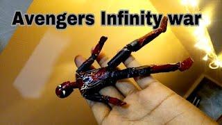 DIY iron spiderman avengers infinity war | Action figure!!