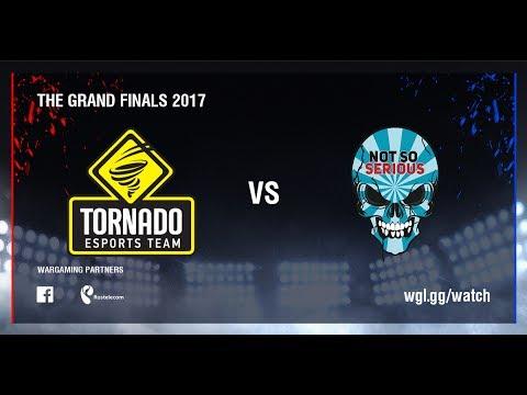 World of Tanks - TORNADO ENERGY  vs Not So Serious - Grand Finals S2 2017