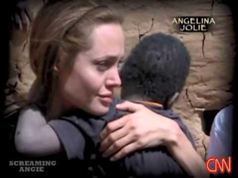 Angelina Jolie on Darfur refugee crisis