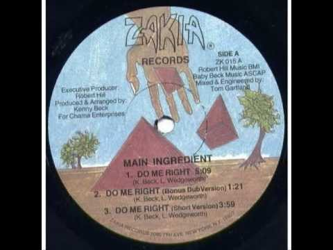 Main Ingredient - Do Me Right  (1985) ♫.wmv