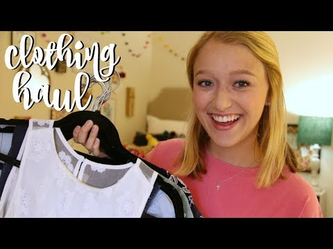 Back To School Clothing Haul 2017!