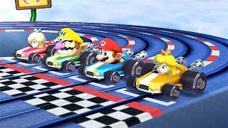 Mario Party The Top 100 Minigames - Rosalina Vs Mario Vs Wario Vs Peach