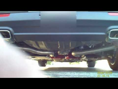 2016 Dodge Challenger SXT Exhaust Cherry Bomb Extreme Rears deleted