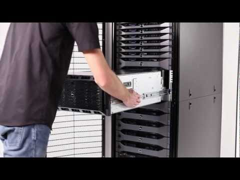 PowerEdge T620: Installation in Rack - YouTube