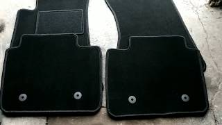Montaż dywaników samochodowych  ze stoperami