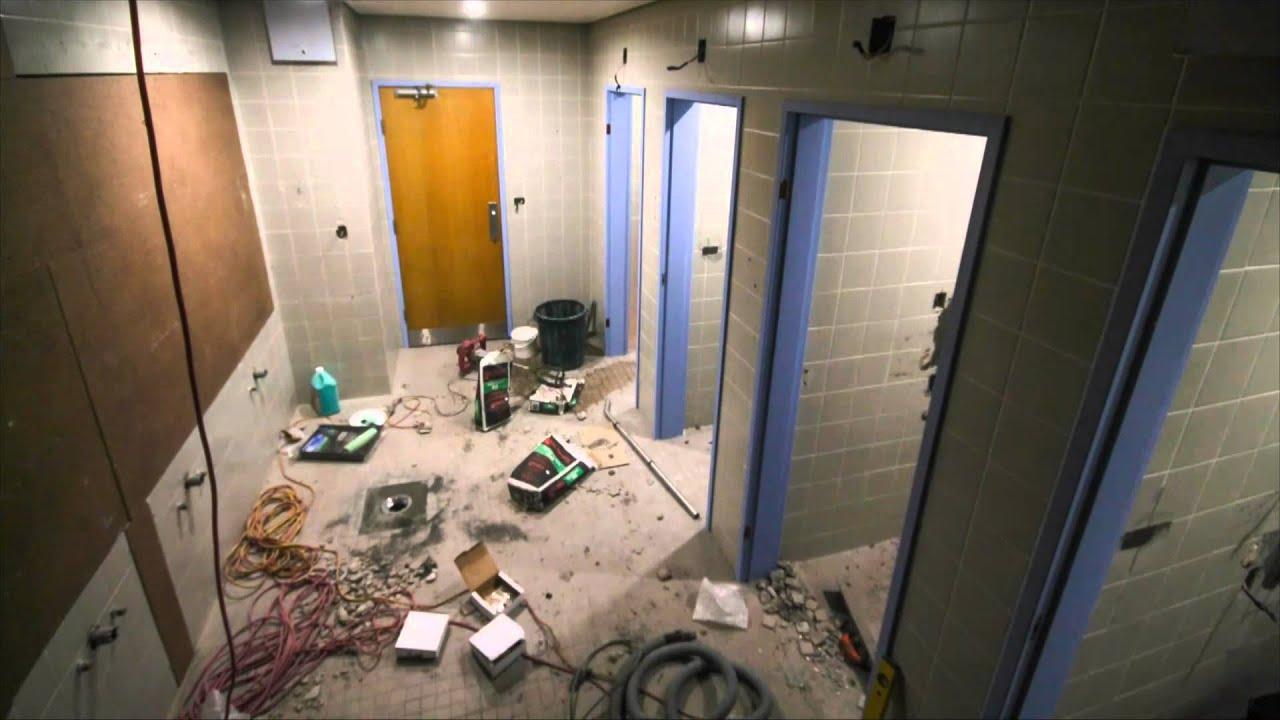 Bathroom Renovations Gosford time-lapse photography @ gosford hospital bathroom refurb 2015