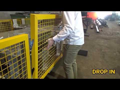 H & B Mining Conveyor Guard