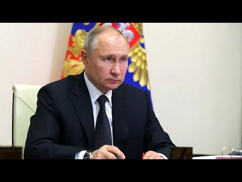 Путин на заседании с членами Правительства