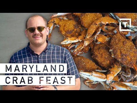 Maryland's Beloved Chesapeake Bay Crabs || Food/Groups