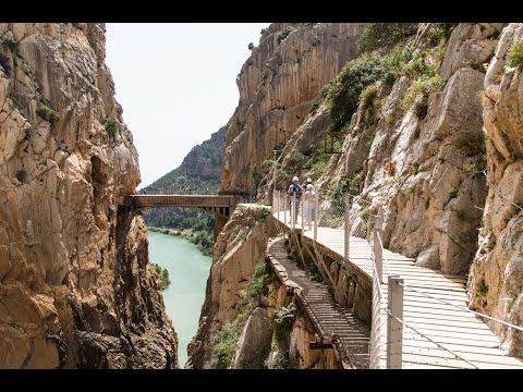 El Caminito del Rey, El Chorro, Spain, Re-opened March 2015