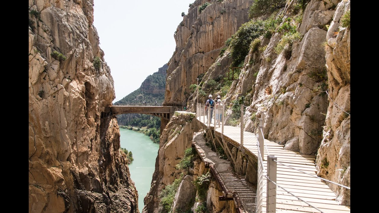 El Caminito del Rey, El Chorro, Spain, Re-opened March 2015 - YouTube