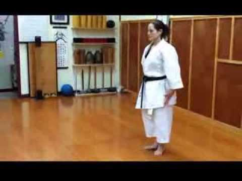 Traditional karate - Kumite drills, Kobukan - goju ryu karate do.