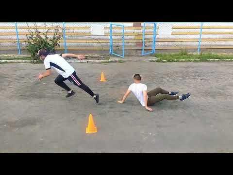 Atletismo ejercicios de velocidad y reaccion