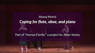 Coping for flute, oboe, and piano