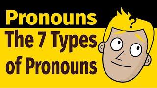 THE 7 TYPES OḞ PRONOUNS   PARTS OF SPEECH   Good Morning Mr. D