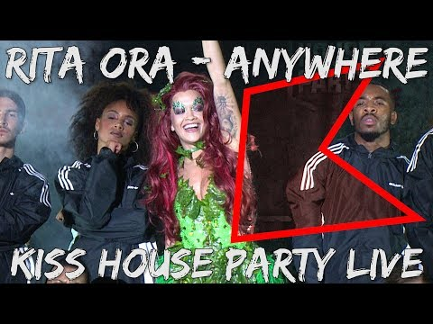 Rita Ora – Anywhere (Live) | KISS House Party Live