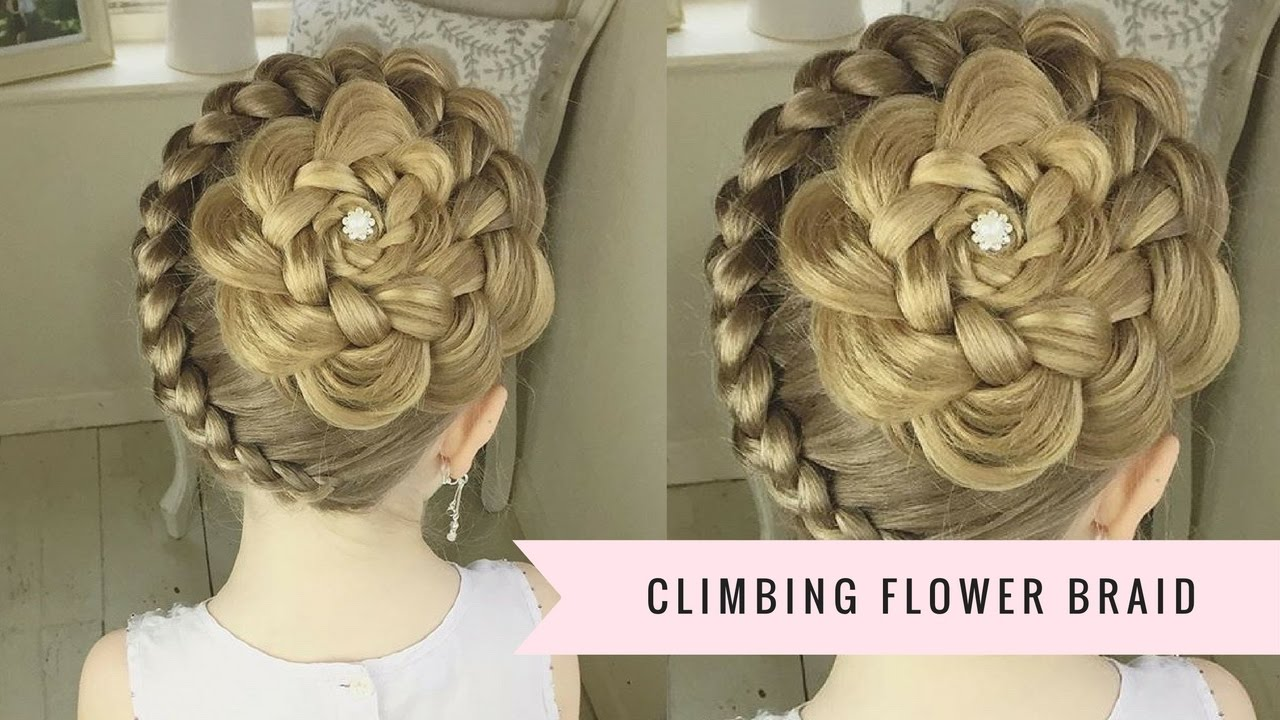 climbing flower braid sweethearts