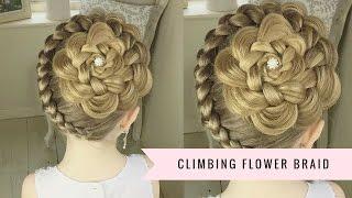 The Climbing Flower Braid by SweetHearts Hair Design