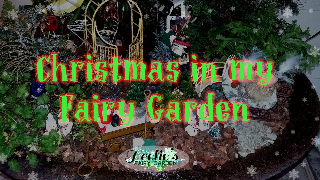teelies fairy garden diy christmas magic teelie turner