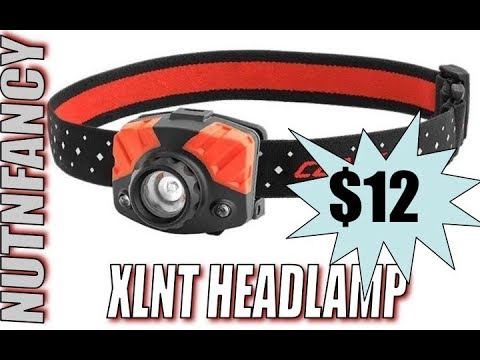 Amazing Value Headlamp:  Coast HL7