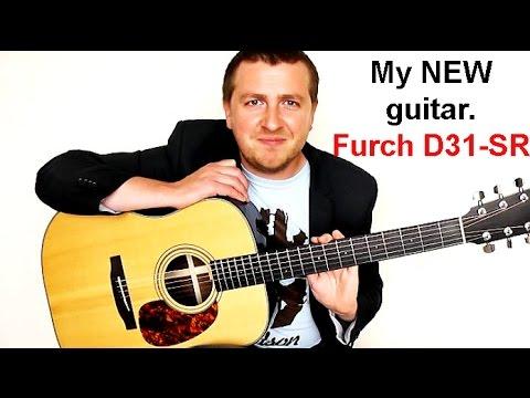 My NEW Guitar - Furch D31-SR Review - Incredible Tone!