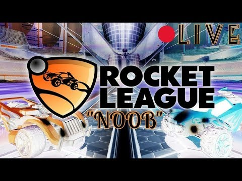 Rocket League: Noob Gameplay  (Interactive Streamer)